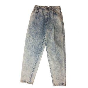 90s Levi's 900 Series Blue Acid Jeans Size 10